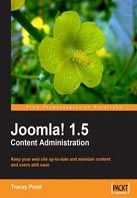 Joomla! 1.5 Development Cookbook.